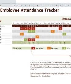 Employee Attendance Tracker Template Free by 2016 Excel Attendance Tracker Calendar Template 2016