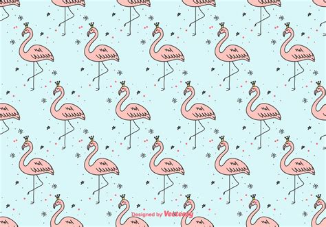 girly backgrounds girly flamingo vector background free vector
