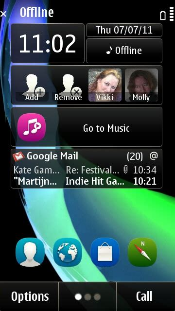 themes nokia x6 nokia x6 home screen themes