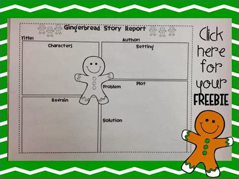 The Gingerbread Book Report by 1000 Images About Applicious Gingerbread Activities On Gingerbread Kindergarten