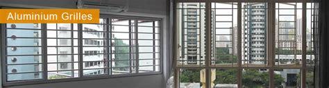 Aluminium (Aluminum) Window Grilles, & Aluminium Grille Doors