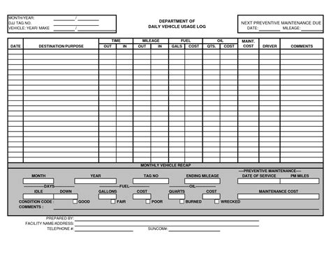 vehicle maintenance sheet template vehicle maintenance log template excel http www lonewolf