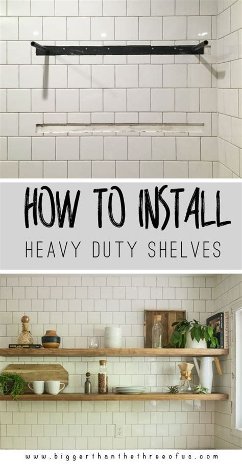 How To Hang A Heavy Shelf by 250 Best Images About New Kitchen On