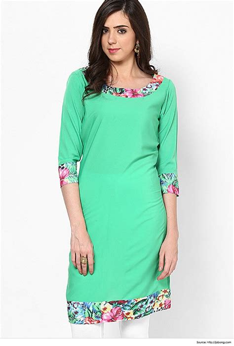 kurti pattern neck simple yet stylish neck designs ever green neck designs