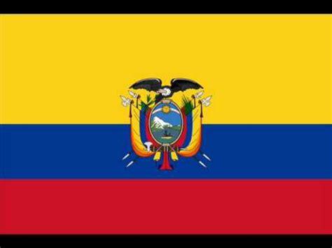 himno juramento a la bandera del ecuador l minas escolares himno a la bandera del ecuador versi 243 n cantada youtube