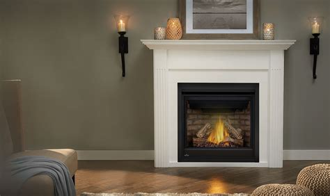 Gas Fireplace And Mantel Gas Fireplaces In Guelph Direct Vent And Inserts