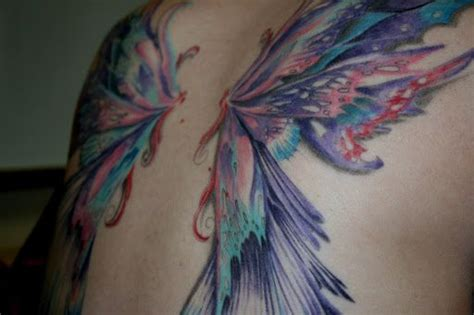 fairy wing tattoos 25 best ideas about wing tattoos on