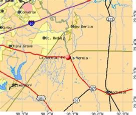 map of la vernia la vernia tx 78121 profile population maps