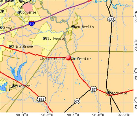 map of la vernia texas la vernia texas tx 78121 profile population maps real estate averages homes statistics