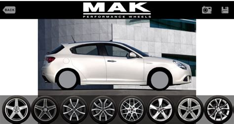 Truck Rims Configurator New Style And Functionality For Mak Alloy Wheels App