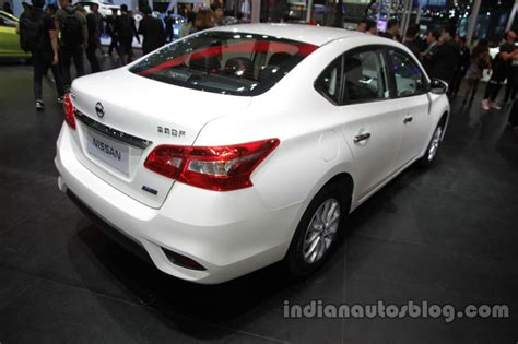 nissan sylphy 2016 2016 nissan sylphy at auto china 2016 rear three quarters