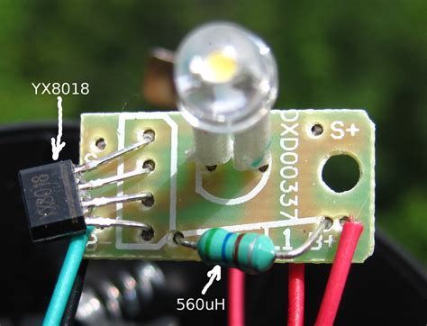 led light circuit board detect and zero rightmost one software and electronic