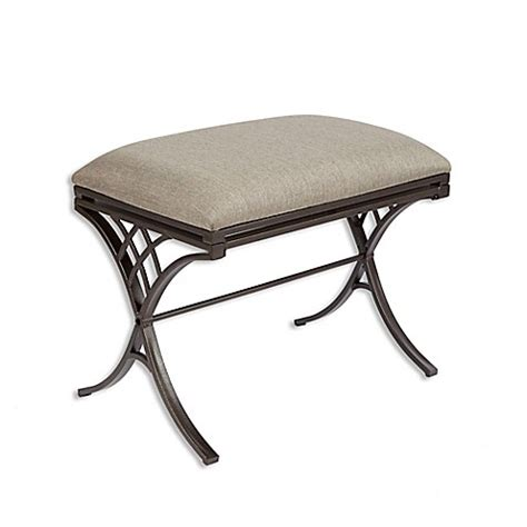 bench bed bath and beyond emery vanity bench bed bath beyond