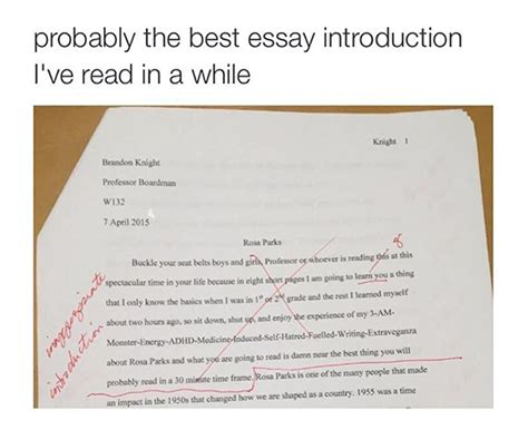 Introduction To Adhd Essay by Is This The Best Essay Introduction Craveonline