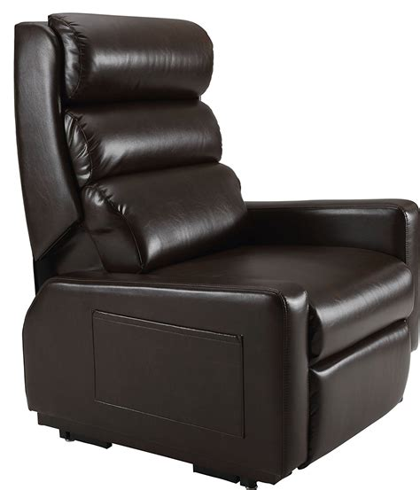 lay back recliner chair cozzia mc 520 lay flat lift infinite position dual motor