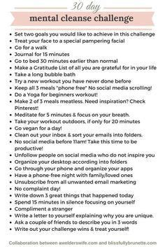9 Day Detox Challenge by Lacking Motivation Join My 30 Day Health Challenge