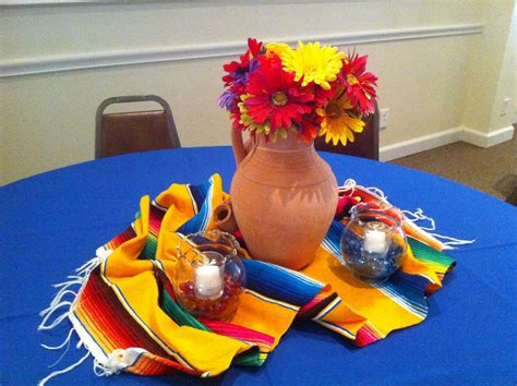 Mexican Decorations by Mexican Centerpiece On