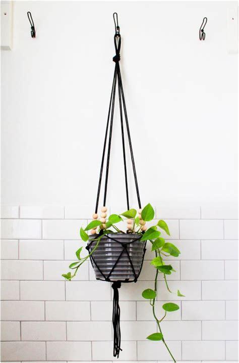Diy Macrame Plant Holder - top 10 enchanting diy plant stands diy plant stand