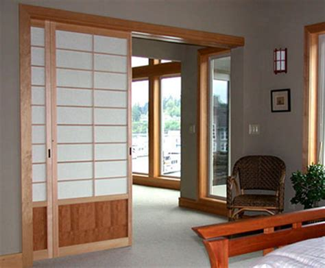 Japanese Sliding Closet Doors Diy Japanese Sliding Doors Home Designs Project