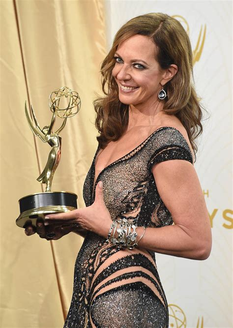 allison janney at the 67th annual emmy awards lainey