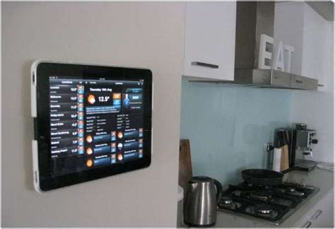 tablet wall mount diy wall mounted tablets wall mounted ipads