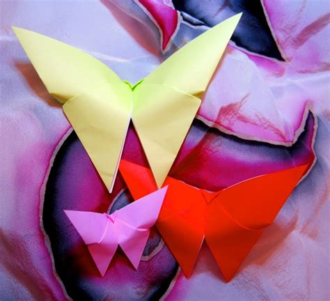 origami butterfly crafts butterflies