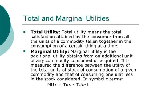 utility analysis ppt what is economic utility definition and meaning autos post
