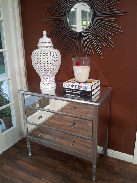 Diy Mirrored Dresser Drawers by Diy Mirrored Dresser The Tamara