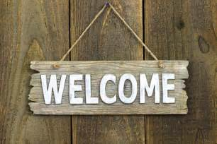 Image result for Welcome Wood Signs
