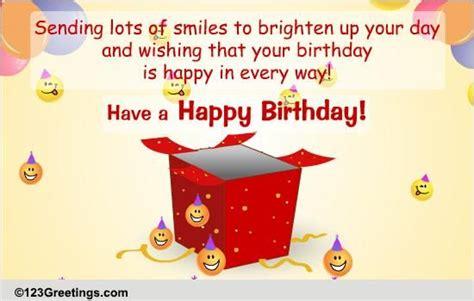 send birthday smiles gift free birthday gifts ecards