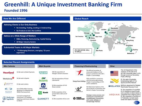 greenhill investment bank exhibit 99 2