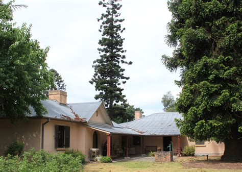 Hambledon Cottage by Nsw Governor Planting Tree June 2014