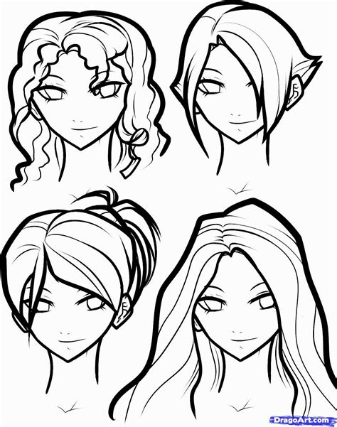 girl hairstyles to draw girl hairstyles to draw hairstyles ideas
