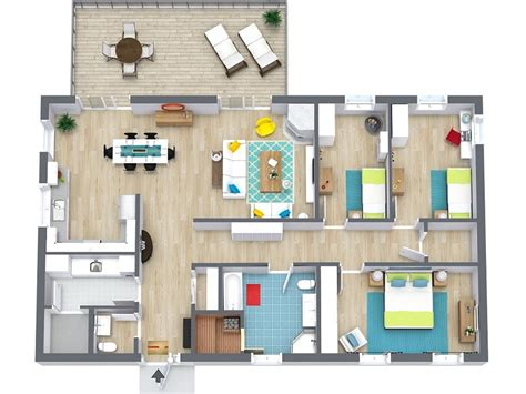 3d Home Interior Design Online fantastic floorplans floor plan types styles and ideas