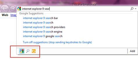 Change Address Bar Search Engine Explorer 9 Standalone Offline Installer Techrena