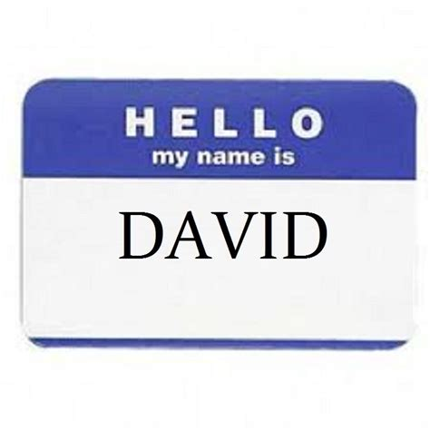 Name Tag Acrylic Sticker 100 hello my name is name tags labels badges stickers peel