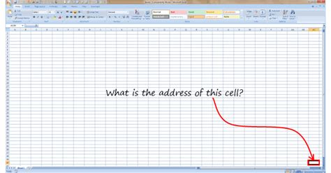 Excel Lookup Cell Address What Is The Last Visible Cell In Your Excel Window Poll