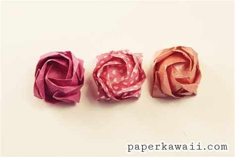 How To Make An Origami Kawasaki - origami kawasaki 183 how to make an origami flower