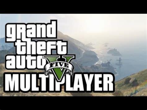 rockstar reveals gta 5 multiplayer mode | made