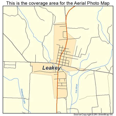 leakey texas map aerial photography map of leakey tx texas