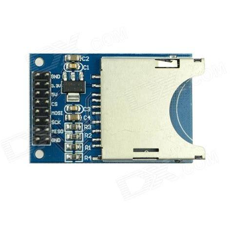 tutorial arduino sd card produino ams1117 3 3v sd card slot reader module w sd