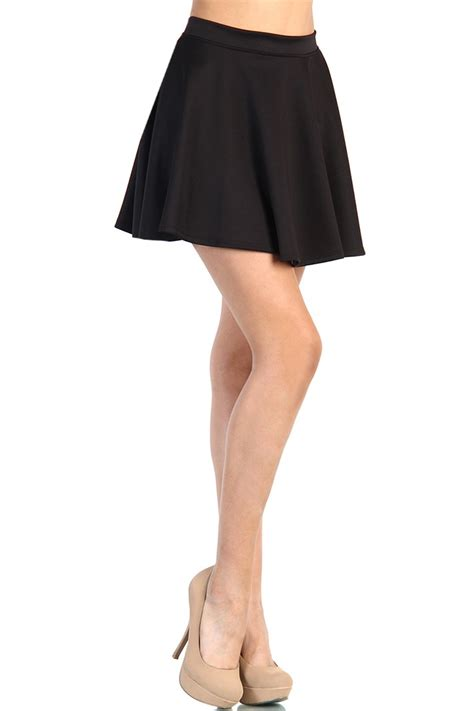 Skirt Black by The Gallery For Gt With Black High Waisted