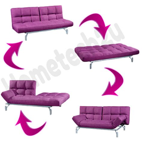 Sofa Lazada clo contemporary 3 seater fabric sofa bed purple