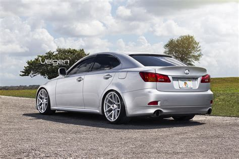 tuned lexus is 250 lexus is250 sport cars tuning velgen wheels wallpaper