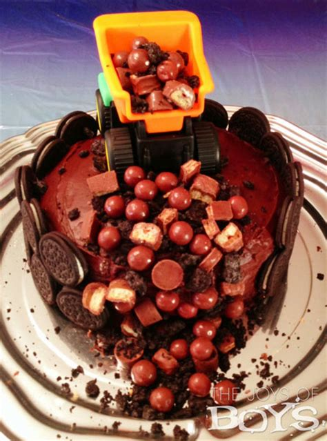Dump Truck Cake The Joys Of Boys