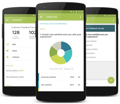 survey mobile app free survey app android surveymonkey