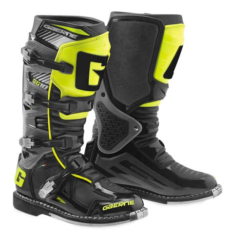 mens motocross boots 350 55 gaerne mens s10 mx motocross off road riding 1037174