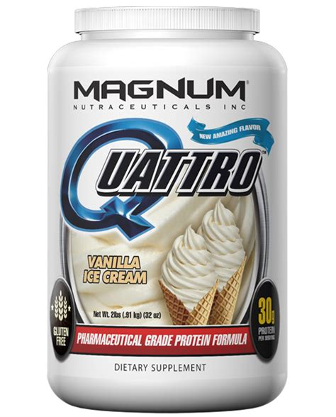 4 protein scoops a day product review magnum nutraceuticals quattro protein