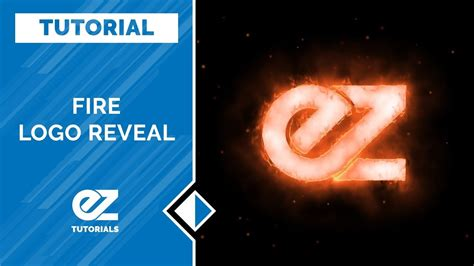 tutorial after effect logo how to create a fire logo reveal in after effects tutorial