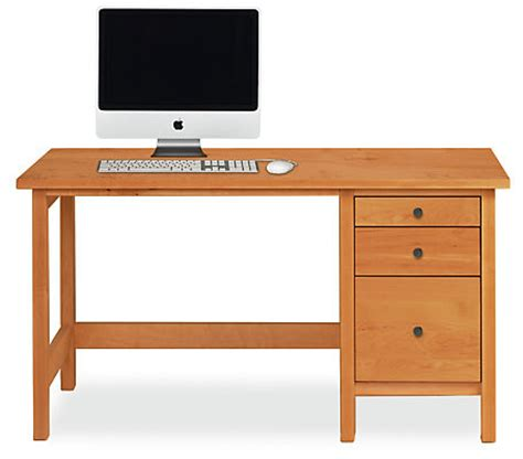 Sherwood modern desk modern desks amp tables modern office furniture room amp board